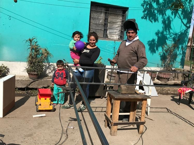 Barbarita y su familia hoy